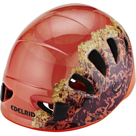 Edelrid Shield II - Casque Enfant - orange/rouge